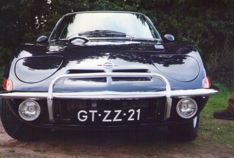 Mooie Opel Gt 1973